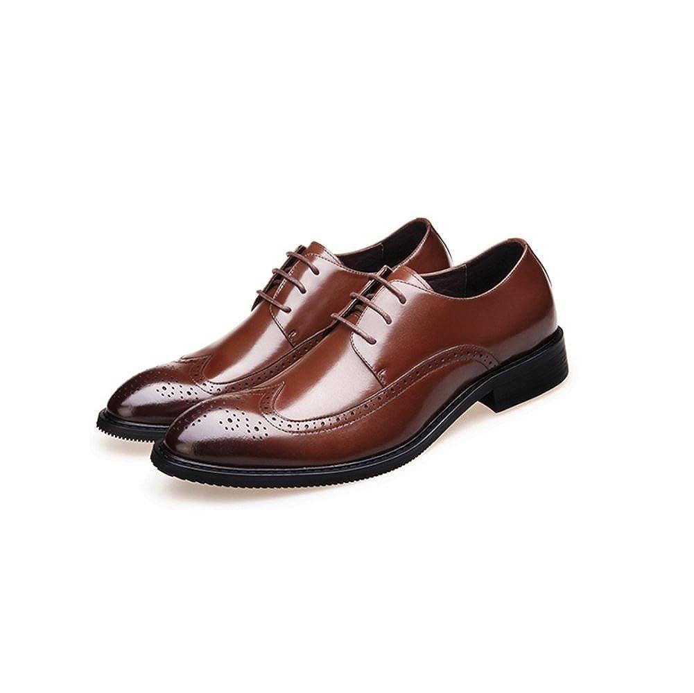 LYZGF Männer Jugend Fashion Business Casual Fashion Jugend Gentleman Verheiratete Lederschuhe 7d1d37