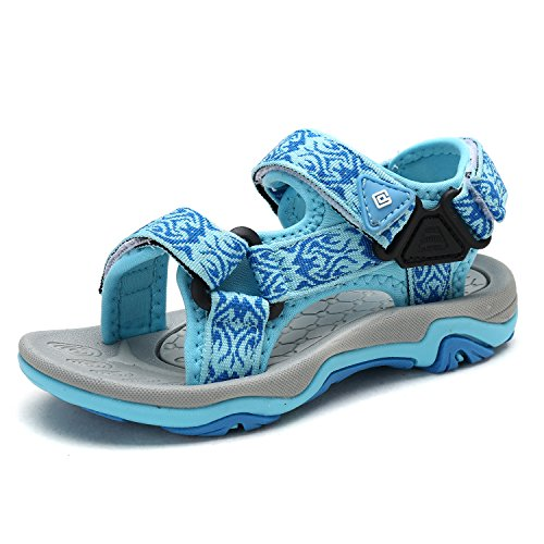 DREAM PAIRS Little Kid 170892-K Baby Blue Outdoor Summer Sandals Size 11 M US Little Kid