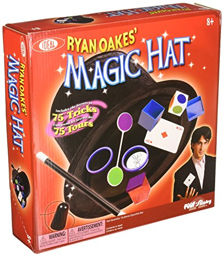 Ideal Ryan Oakes' Magic Hat - Magician Set Magic
