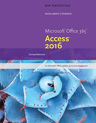 New Perspectives Microsoft Office 365 & Access 2016: Comprehensive (MindTap Course List)
