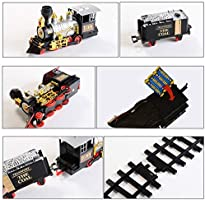 162 Pulgadas Tawcal Tren Arbol Navidad Electrico con Luces Y Sonidos,Juguetes educativos Veh/ículo de Transporte de Control Remoto Humo de Vapor el/éctrico RC Tren Conjunto Modelo Juguete Regalo