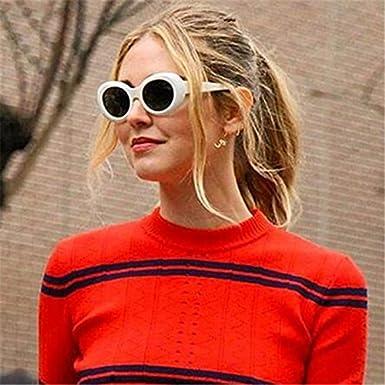 862a83fef6 UVLAIK Men Women Clout Goggles Glasses UV400 Mirrored NIRVANA Kurt Cobain  Sunglasses Classic Fahion Female Male Sun Glasses C5  Amazon.in  Clothing    ...