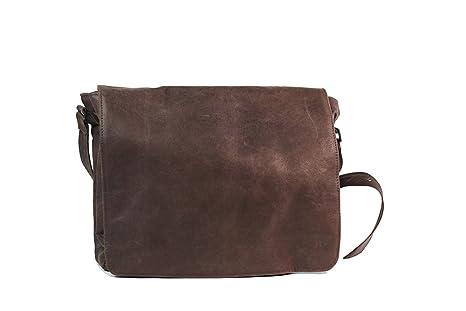 nuovo arrivo 4327b 835e5 borsa tracolla in pelle cuoio L38xH36xP10 cm mod Borsa da ...