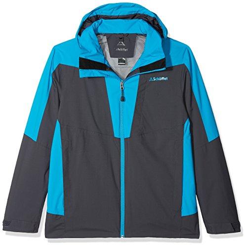 Zipin Simlon jacket grey blue Adamont Adamont Men's Jacket Zipin Schöffel Men pwdq1E1