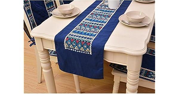 GJ-Escritorio / cama / Bandera / moda / tela embellecedor / mosaico Home Furnishing / mantel,32*180cm,A,Regalos de Navidad: Amazon.es: Hogar