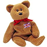 : TY Beanie Baby - BRITANNIA the Bear (UK Exclusive)