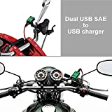 【Upgraded Version】 YONHAN 4.8A Motorcycle USB