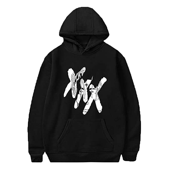 Hoodie Jumper Top Cool Rap Graphic Hoody Sudadera Street Trendy Hoodie Pullover Sweaters Abrigos Negro 2XL: Amazon.es: Ropa y accesorios