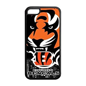 meilinF000NFL Cincinnati Bengals iPhone 5C Hard Case Cover Protector Chrimas Gift IdeameilinF000