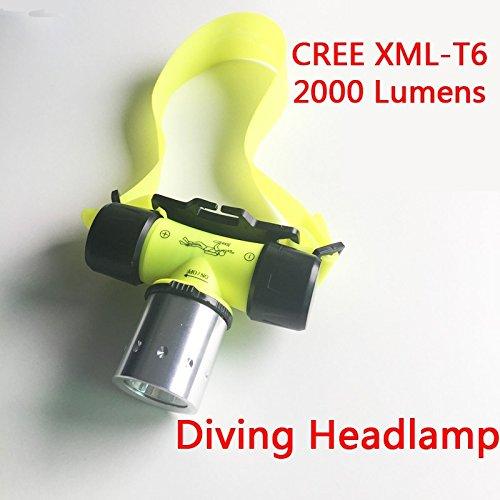 2000LM CREE XM-L XML T6 LED Headlamp Headlight Flashlight - 6