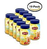 PACK OF 10 - Lipton Diet Raspberry Iced Tea Mix, 2.6 Oz