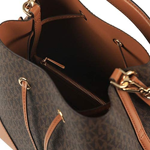 MICHAEL Michael Kors Mercer Gallery Medium Convertible Bucket Shoulder Brown/Acorn One Size