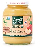 North Coast Apple Sauce Jar Organic, 24 oz (frozen)