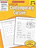 Contemporary Cursive, Grades 2-4, Scholastic, 0545200911
