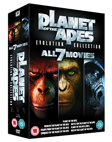 Planet of the Apes: Evolution Collection [Import anglais] (The Of Movies Planet Apes Legacy)