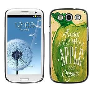 Dragon Case - FOR Samsung Galaxy S3 - let us seize it - Caja protectora de pl??stico duro de la cubierta Dise?¡Ào Slim Fit