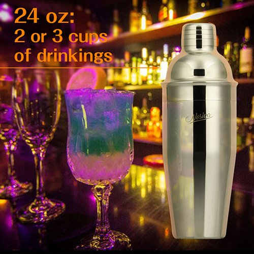 Bartender-Kit-17-Pieces-Cocktail-Bar-Set-Stainless-Steel-Shaker-Set-includes-24oz-Martini-Cocktail-Shaker-50oz-Ice-Bucket-Double-Size-Jiggers-and-other-Essential-Bar-Mix-Tools