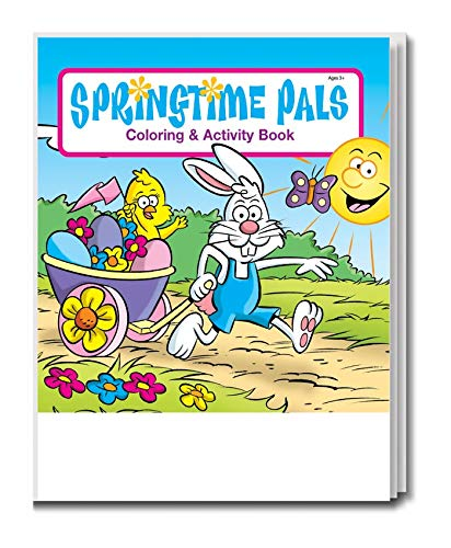 - Springtime Pals Kid's Coloring & Activity Book in Bulk (25-Pack)