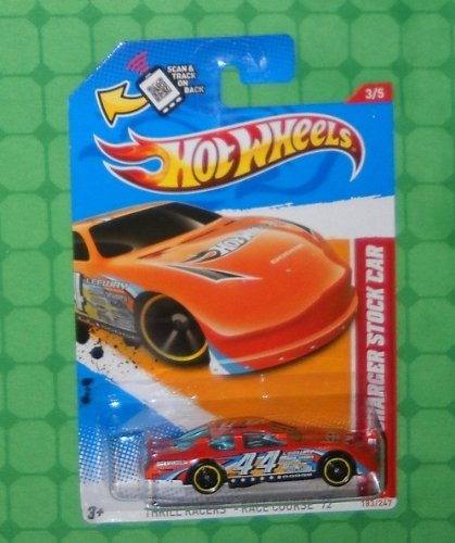 Dodge Charger Stock - Hot Wheels Thrill Racers-Race Course 2012 Dodge Charger Stock Car
