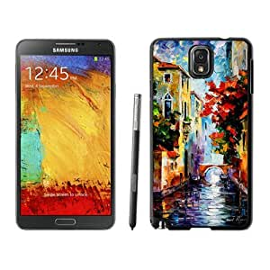 Armor Protective Case for Galaxy Note 3 Case,Samsung Galaxy Note 3 Protective S View Coer Protective Case Painting Venice Samsung Galaxy Note 3 Case Black Cover