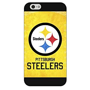 """Onelee Customized NFL Series Case for iPhone 6+ Plus 5.5"""", NFL Team Pittsburgh Steelers Logo iPhone 6 Plus 5.5"""