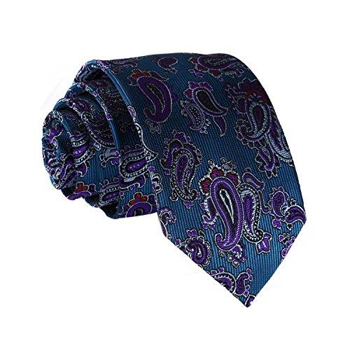 cm Navy Width Set blue Necktie Square in Floral 2 75 inches Pocket 7 Men's HISDERN Necktie And AwZXTqT4