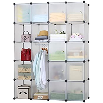 Langria 20 Storage Cube Organizer Wardrobe