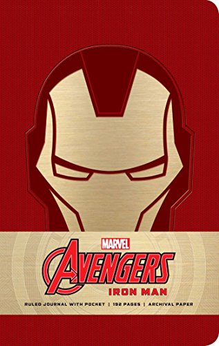 (Marvel: Iron Man Hardcover Ruled Journal)
