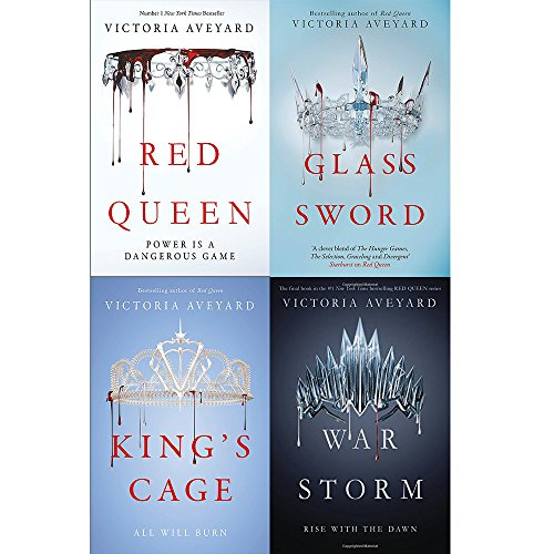 Victoria Aveyard Red Queen Series 4 Books Collection