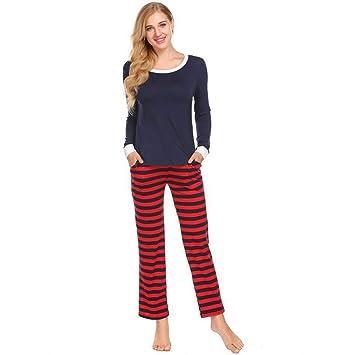 DUKUNKUN Pijama, Conjuntos, Pijama De Manga Larga, Camisones Flojos, Flojos, Femeninos