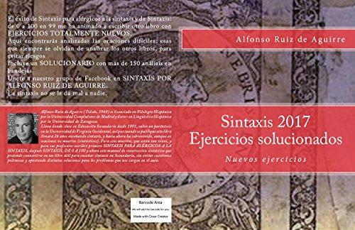 Sintaxis 2017: Ejercicios solucionados (Spanish Edition) by [Ruiz de Aguirre, Alfonso