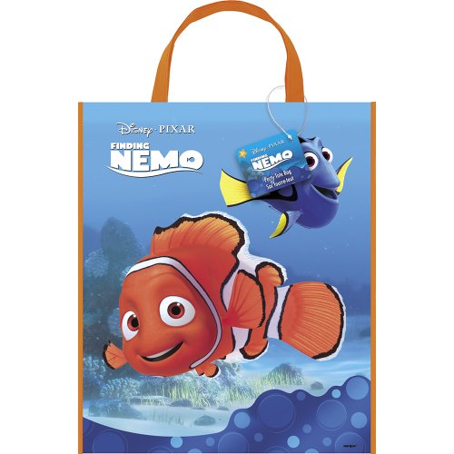 Finding Nemo Deluxe Favor Bag, 13 x 11