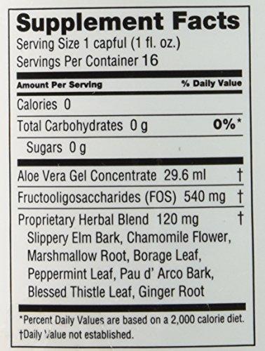 Aloe 80 Organics Stomach Drink, Aloe Vera, 16 Ounce