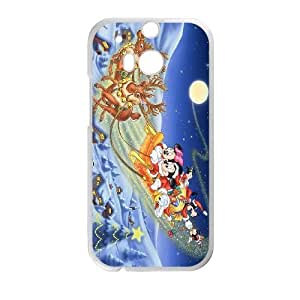 HTC One M8 Cell Phone Case White Disney GKO Fashion Cell Phone Case Unique