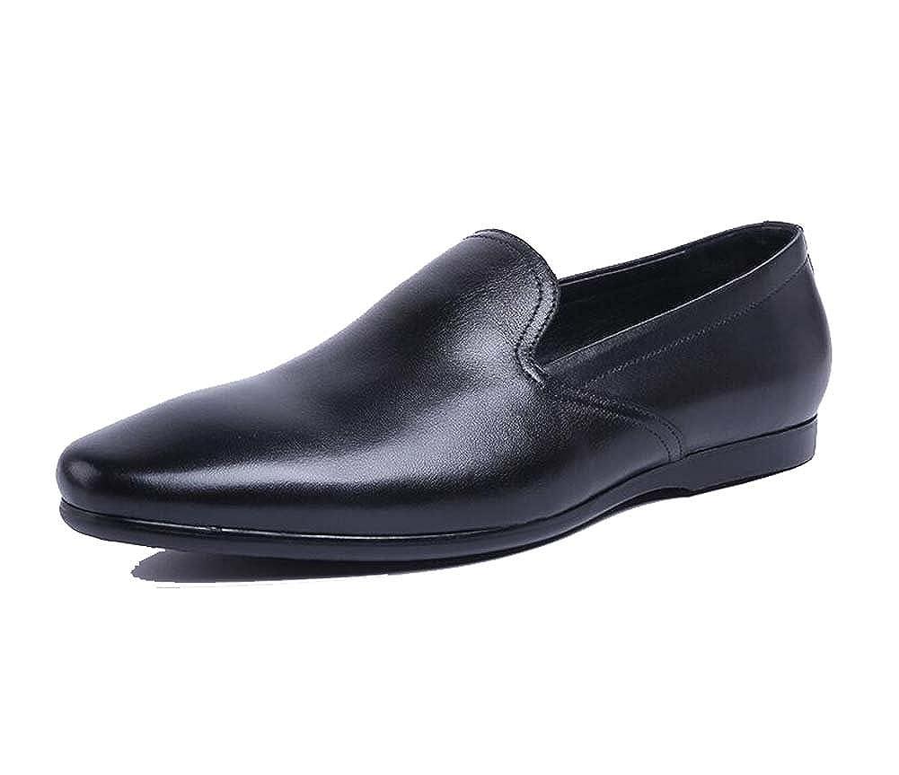Herrenschuhe Lok Fu Schuhe Arbeiten Lederschuhe Hochzeit Mode Atmungsaktive Schuhe Neu
