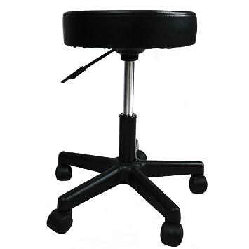 Awesome Artist Hand Height Adjustable Swivel Stool Hydraulic Rolling Swivel Stool  On Wheels Portable Massage Cushion Saddle