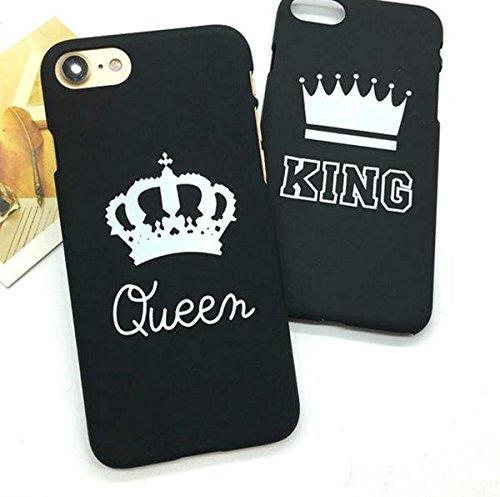 Cover Case Custodia per Apple iPhone 5 / 5S / SE, Regina Queen Disegno Antigraffio Back Cover Protettivo Moda Fashion Custodia Case Nero REGALO NATALE SAN VALENTINO FIDANZATI