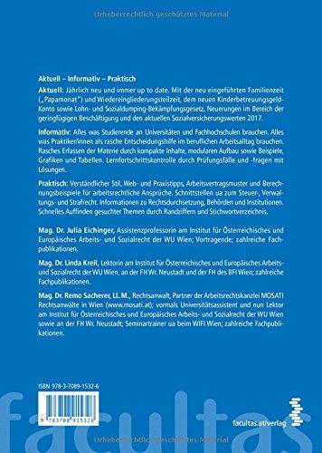 Basiswissen Arbeits Und Sozialrecht 2017 Beispiele Web Und