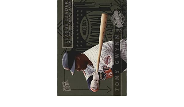 Amazon.com: 1995 Ultra League Leaders #6 Tony Gwynn MLB ...