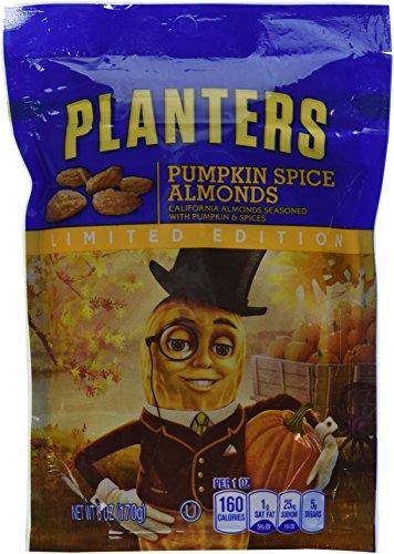 Kraft Planters (Planters Pumpkin Spice Almonds, 6.0)