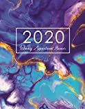Books : 2020 Weekly Appointment Planner: Marble Paint, Appointment Book 2020 Daily and Hourly Planner, 52 Weeks Monday To Sunday 8AM - 9PM In 15 Minutes Time ... Planner Calendar with 15 Minute Interval)