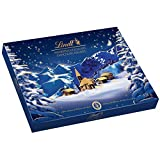lindt christmas alpine village assorted chocolates, gift box, 469g