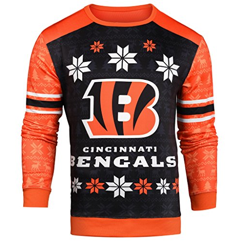 NFL Ugly Sweater Cincinnati Bengals