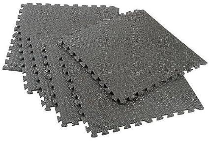 Amazon 24 Sq Ft Interlocking Foam Mats Tiles Gym Play Garage