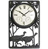 Wild Turkey Outdoor Clock