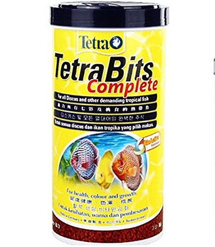 Germany Tetra Bits Complete Fish Food All Discus Tropical Color Growth 300ml