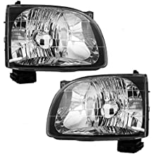 Pair Set Headlights Headlamps Replacement for 01-04 Toyota Tacoma Pickup Truck 81150-04110 81110-04110