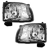 2004 toyota tacoma headlight lens - Driver and Passenger Headlights Headlamps Replacement for Toyota Pickup Truck 81150-04110 81110-04110