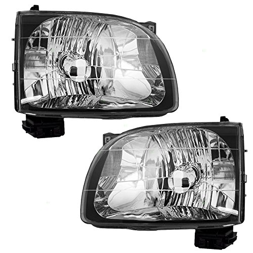 Driver and Passenger CAPA-Certified Headlights Headlamps Replacement for Toyota Pickup Truck 81150-04110 81110-04110 AutoAndArt
