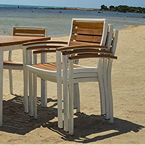 51gDPIG81TL._SS300_ Teak Dining Chairs & Outdoor Teak Chairs